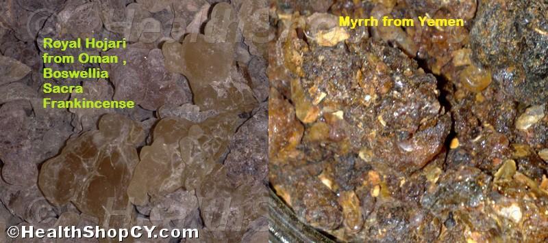 Frankincense Sacra & Myrrh