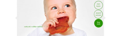 Hevea Baby Pacifiers, Teethers & Bathing Toys